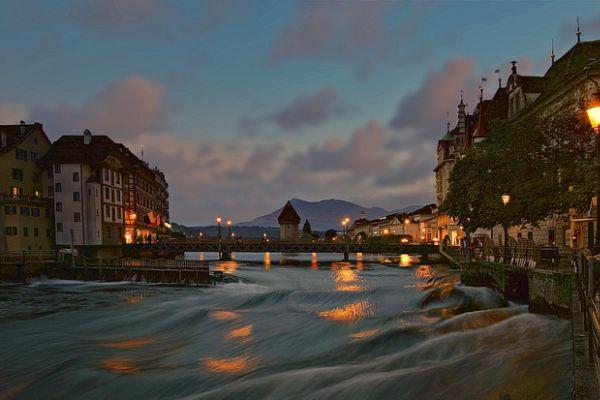 Lake Lucrene, Lakes in Switzerland