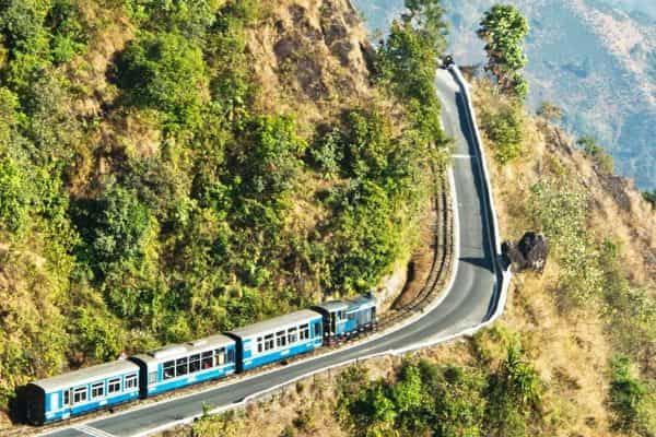 Himalayan railway Darjeeling toy train booking
