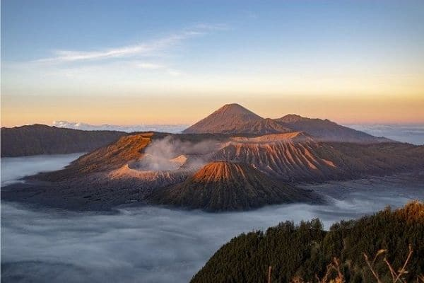 Volcano Bali, Indonesia - best time to visit Bali from India