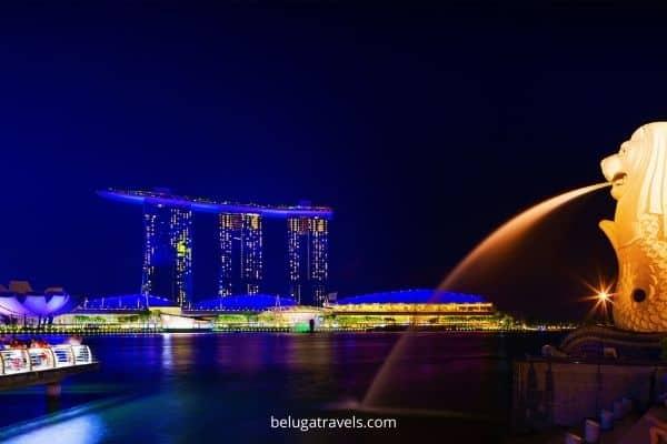 Night at Singapore Singapore to Malaysia cruise