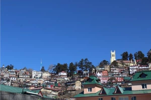 Shimla Town, tourist places in Himachal Pradesh
