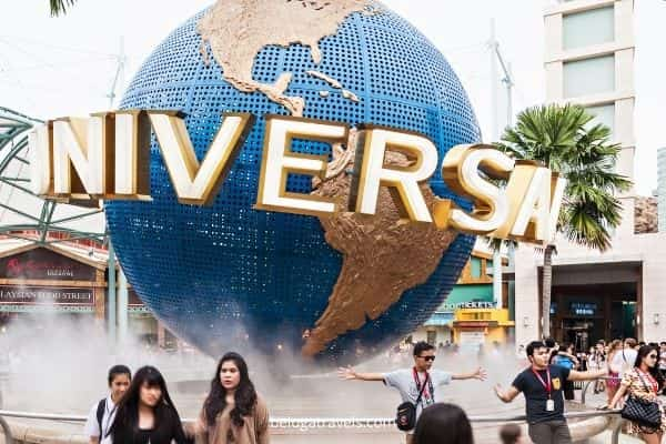Universal studio Singapore - Singapore Malaysia tour