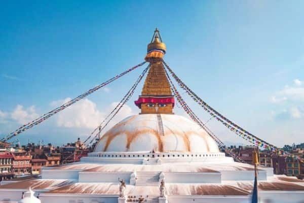 Boudhanath - things to do in nepal with family