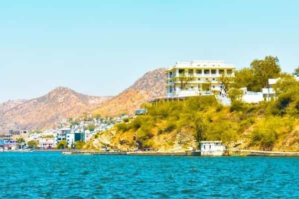 Ana sagar lake, tourist places in Ajmer with photos