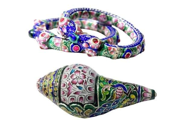 Banaras gulabi meenakari craft - Shopping in Banaras