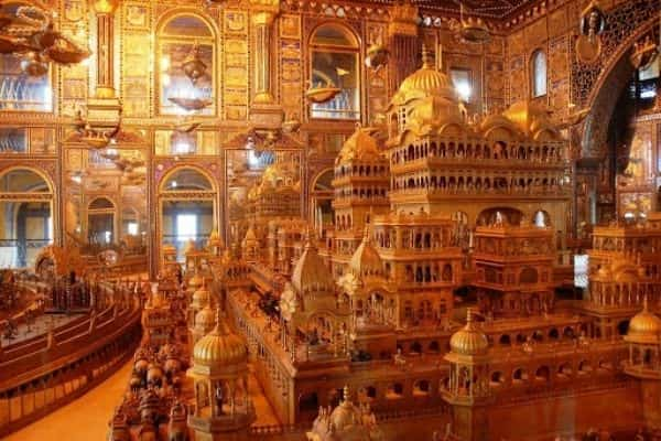 Nasiyan Jain Temple, Places to visit in Ajmer in one day