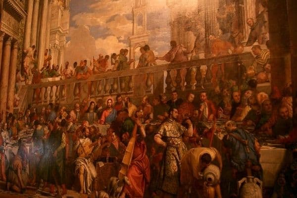 Wedding feast of Cana