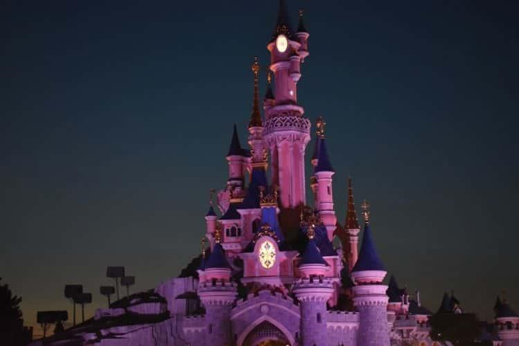 Fantasy Land Disney park Paris